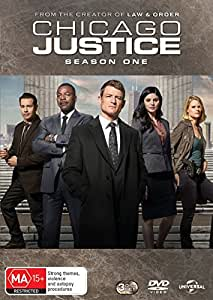 CHICAGO JUSTICE: SEASON 1 - 3 DISC - DVD