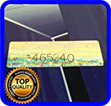 130 pcs Hologram Labels with Serial