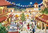 Prepare for Christmas by opening a window each day during Advent to reveal a special picture and a verse from 'Twas the Night Before Christmas in Spanish. The front is accentuated with glitter. Haga la cuenta regresiva de los 24 días hasta la...