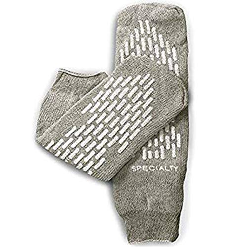 Healthstar Non Skid Double Sided Hospital Sock 3X ()