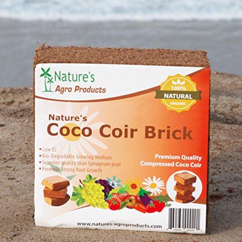 Natures Premium Coco 2 Pound Brick