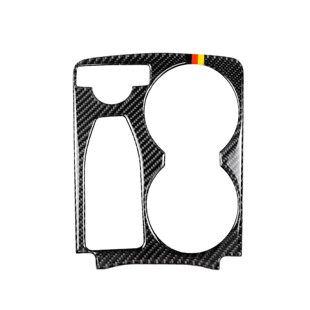 Morza Tapa del Panel de Fibra de Carbono Multimedia handrest reemplazo de la calcoman/ía para Mercedes GLK 2008-2015