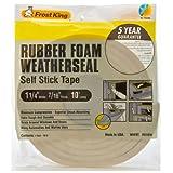 Frost King R516WH Sponge Rubber Foam Tape