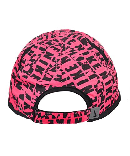 22b194f254d47 NIKE Girls  Dri-Fit Baseball Cap (Youth One Size) - Hyper Pink Black ...