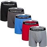 Boxer Briefs Men's Undearwear Men Pack of 5 Cotton Mens Underwear Boxer Briefs XL