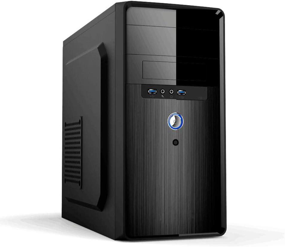 PC Case MPC24 Torre Negro 500 W - Caja de Ordenador (Torre, PC, Negro, Micro ATX, Unidad de Disco Duro, CE, WEEE): Pc-Case: Amazon.es: Informática