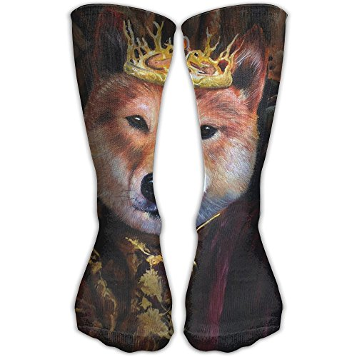 Unisex Classics Socks Splendid Beast Dogs Crown Athletic Stockings 30cm Long Sock One Size (Adult Chicken Professional Dog)