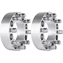 "Wheel Spacer,ECCPP 2X 2"" Wheel Spacers 8x6.5"" to 8x6.5"" 8 lugs for Dodge Ram 2500 3500 Ford F250 F350 with 9/16 Thread"