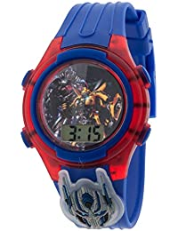 Transformers Optimus Prime LCD Watch with Flashing Dial and Light-up Icon