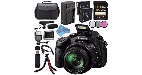 Amazon.com: Panasonic Lumix DMC-FZ1000 Digital Camera + ...