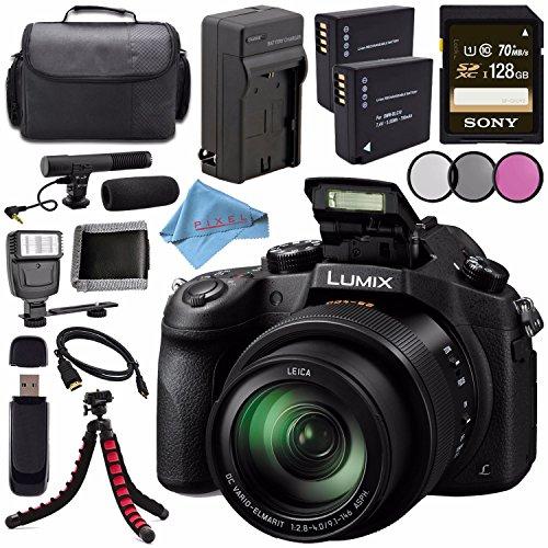 Panasonic Lumix DMC-FZ1000 Digital Camera + Lithium Ion Batt