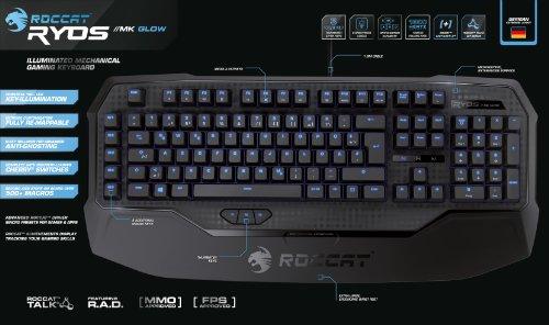 Roccat Ryos MK Glow Illuminated Mechanical Gaming Keyboard