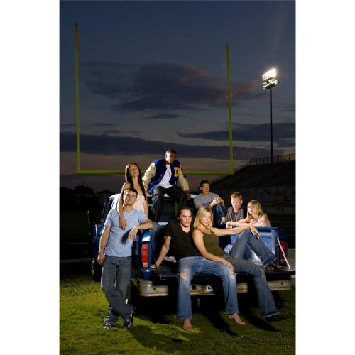Friday Night Lights Poster by Silk Printing # Size about (60cm x 90cm, 24inch x 36inch) # Unique Gift # BED61B