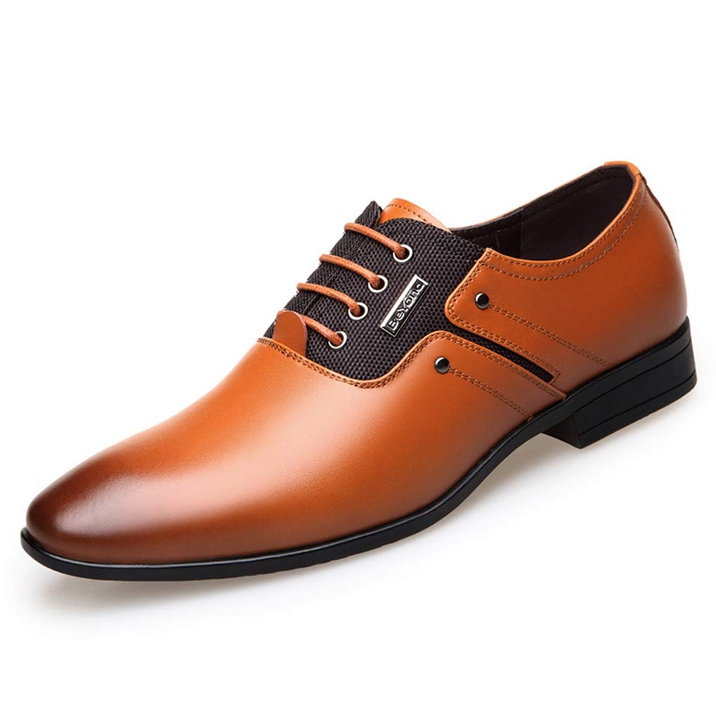 33700a28113c Amazon.com  Starttwin Formal Shoes for Men Spring Autumn Lace-up Light  Wedding Business Dress Shoes  Sports   Outdoors