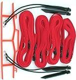 Home Court 1-inch Adjustable 8-Meter Sand Setup Line - M817AS (Red)