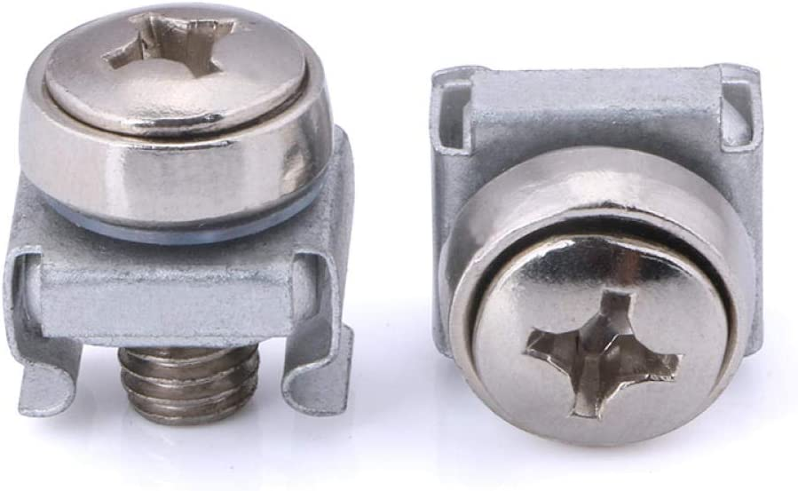 Color-Plated Nickel-Plated Crown Screw nut Set, Crown Cross Slot Cabinet, Three Combination Screws-Crown Screw + Card Mother (1000) Color Crown Screw + Card Mother 100 Color