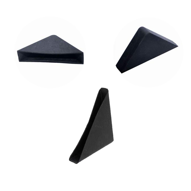 YouU Protectores de Esquinas 20 piezas Coj/ín Protector de Esquina de Mesa de Vidrio con Tres Esquinas de 10 mm x 75 mm