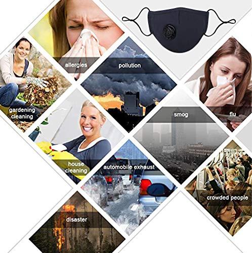 2 PCS Washable Reusable Adjustable Cotton Face MadkS, NB