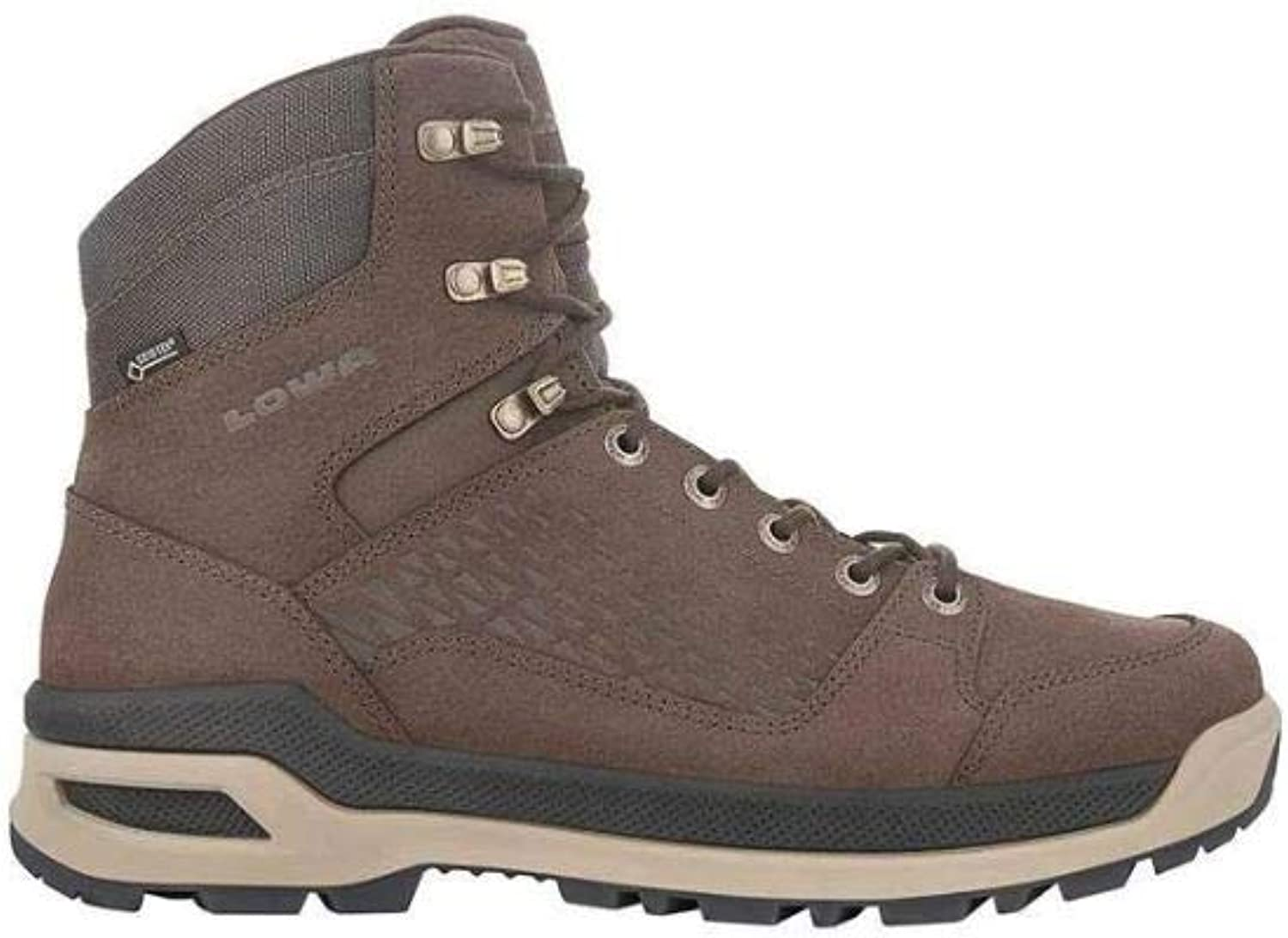 LOWA Boots Men s Locarno Ice GTX Mid – Dark Brown 11 M US