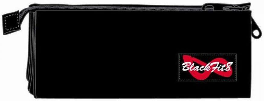 Blackfit8-Estuche portatodo Triple, Color Negro, 22 cm (SAFTA 841435744): Amazon.es: Juguetes y juegos