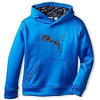 PUMA Boys Hoodie Sweatshirt Water Repellant Breathable Althleic Hooded Fleece