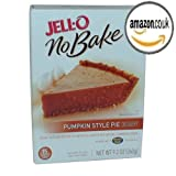 Jell-O No-Bake Pumpkin Style Pie Dessert, 9.2-Ounce Box