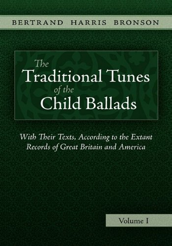 (The Traditional Tunes of the Child Ballads, Vol 1)