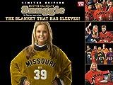 NCAA Missouri Tigers Uniform Snuggie, Large, Black