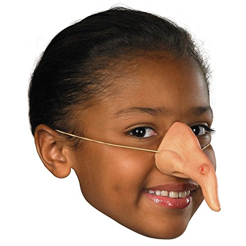 Witch Costume Nose, One Size