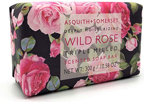 (Asquith & Somerset Deeply Moisturizing Wild Rose Triple Milled Soap 10.58 oz)