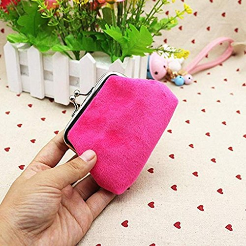 2018 wallets Lady Pink cute Coin Mini Bag Hot Wallet Purse Wallet Corduroy Clutch Noopvan small Hasp Clearance wqCgf6wE