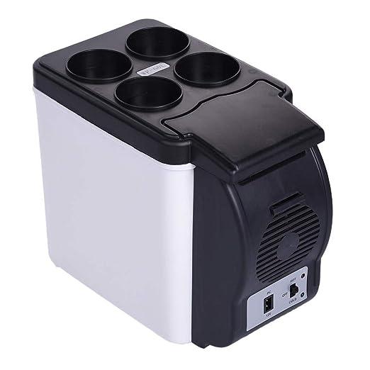 ATpart Mini Nevera Nevera Eléctrica, Refrigerador Portátil Para ...