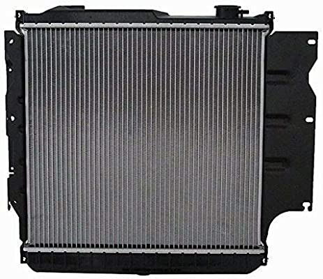 Fits CU1682 Brand New Radiator for 1987-2006 Jeep Wrangler 2.4L 2.5L 4.0L 4.2L