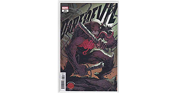 2021 1:25 Elektra Design Cover pre-order 01//20//2021 Daredevil #25 2nd Print