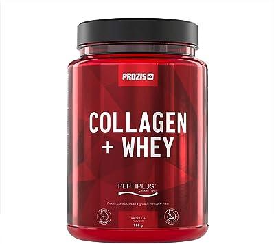 Prozis Collagen + Whey 900 g Vainilla Sin Conservantes Sin Aspartamo Sin Colorantes Artificiales Bajas En Hidratos De Carbono 50% De Colágeno ...