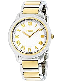 Mens white dial, stainless-steel bracelet watch F251114000XG (Certified Refurbished)