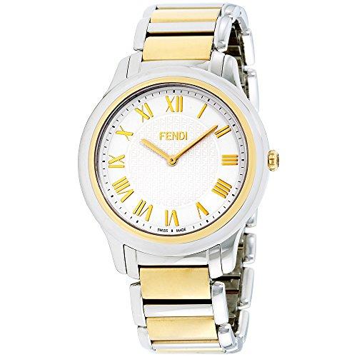Fendi Mens white dial, stainless-steel bracelet watch F251114000XG (Certified - Fendi Men Watches