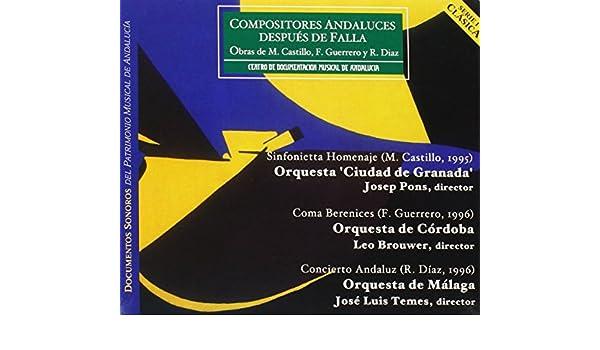 Compositores Andaluces Post: Brouwer; Leo Cuellar; Carlos Granada ...