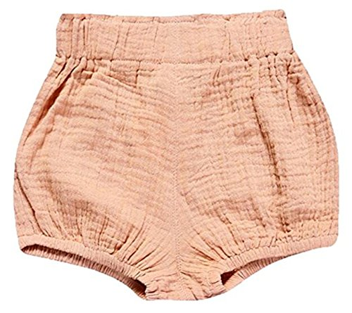 Linen Bloomers - JELEUON Little Baby Girls Boys Cotton Linen Blend Cute Bloomer Shorts 6-9 M