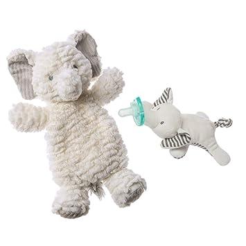Mary Meyer WubbaNub Infant Newborn Baby Soothie Pacifier ~ Afrique Elephant