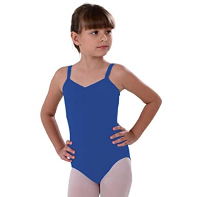 7cf80f270 Amazon.com  So Danca Celestial Blue Camisole Dance Leotard Little ...