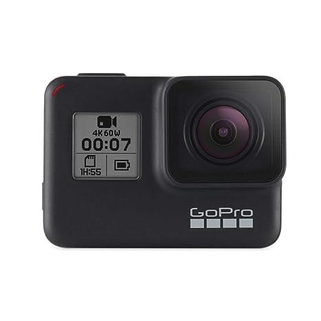 Gopro Hero7 Black Cámara De Acción Digital Sumergible Con Pantalla Táctil Vídeo 4k Hd Fotos De 12 Mp Transmisión En Directo Y Estabilización