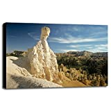 G- Bryce Canyon-GORSEM32034 Print 11.5''x16.75'' by Gordon Semmens in a Canvas Stretched on 1.5'' Bars