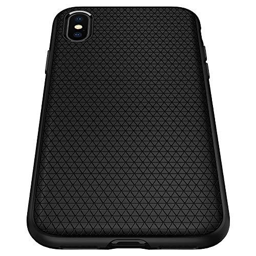 Spigen Liquid Air Armor Designed for iPhone Xs MAX Case (2018) - Matte Black ()