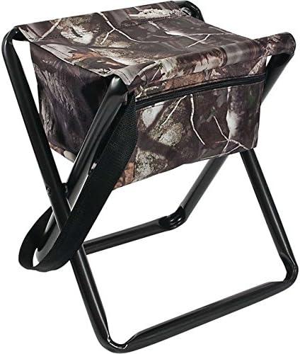 Allen Company Camo Folding Hunting Stool with Storage Pouch- Next G2 Camo – 12L x 14.5W x 17H inches