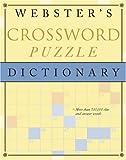 Webster's Crossword Puzzle Dictionary, RH Disney Staff, 0375425845