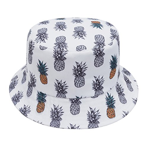 GP Accessories Trends Fashion Bucket Hat Large Pineapple 2 Color White