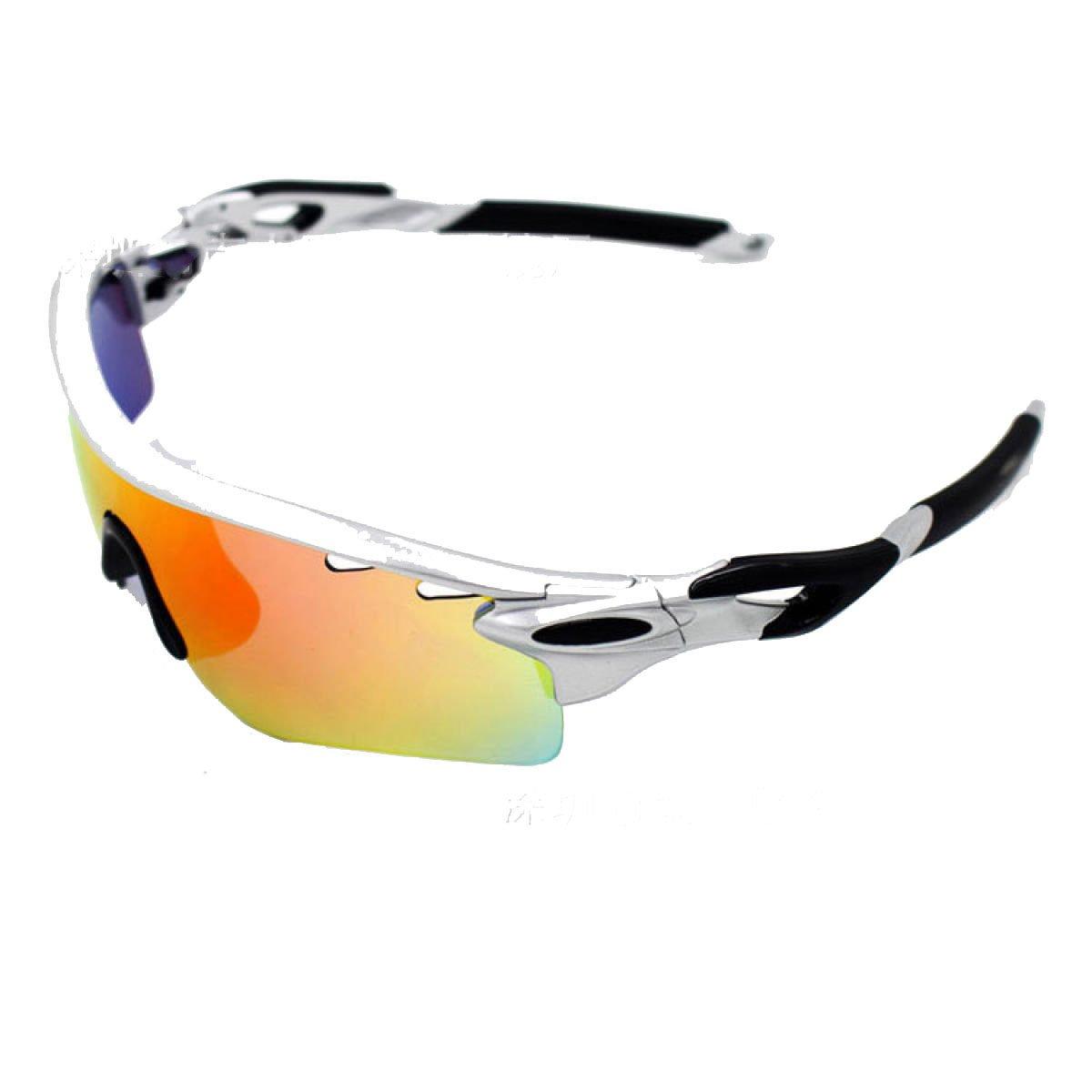 TZQ Riding Glasses Wind Mirrors Sports De Plein Air Lunettes De Soleil Polarisantes Lunettes De Ski Anti-buée,C