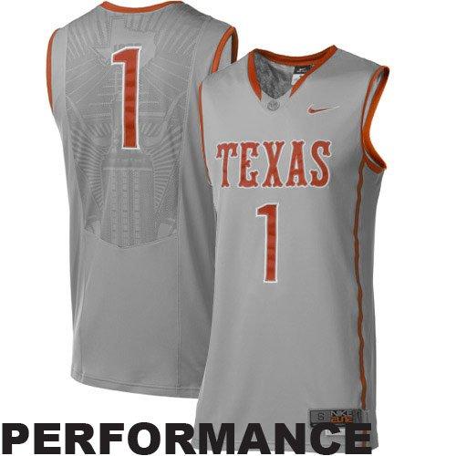 Gary Johnson Texas #1 2011 Nike Twill Jersey 2X