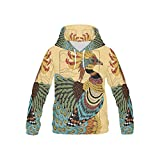 Native American Indian Art Print Kid's 3D Printed Pullover Hooded Sweatshirt